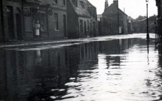 west street flooded
